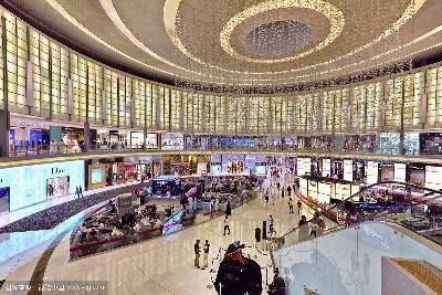 迪拜购物中心室内设计鉴赏