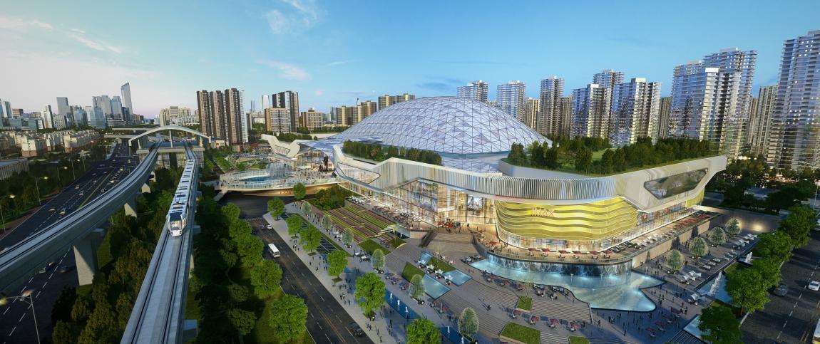 新城市中心 中国摩缔造文旅大城