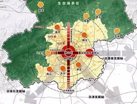 北京首发分区规划 各区特色突出