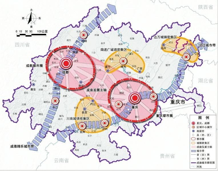 沙坪坝:传统商贸老区变身城市高铁商圈新模范