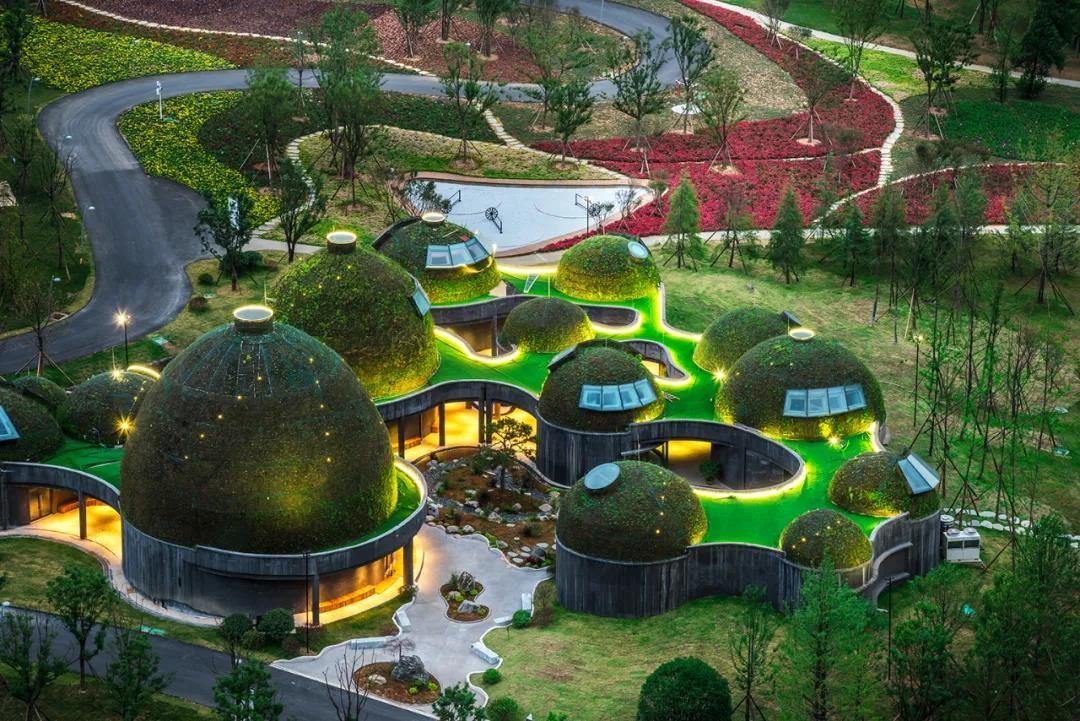 大地从天而降?懒坝禅境国际度假区5月开放 释放艺术魅力